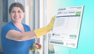 Obrigações financeiras do empregador domésticos no mês de agosto