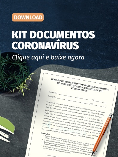 kit de documentos contra o coronavirus